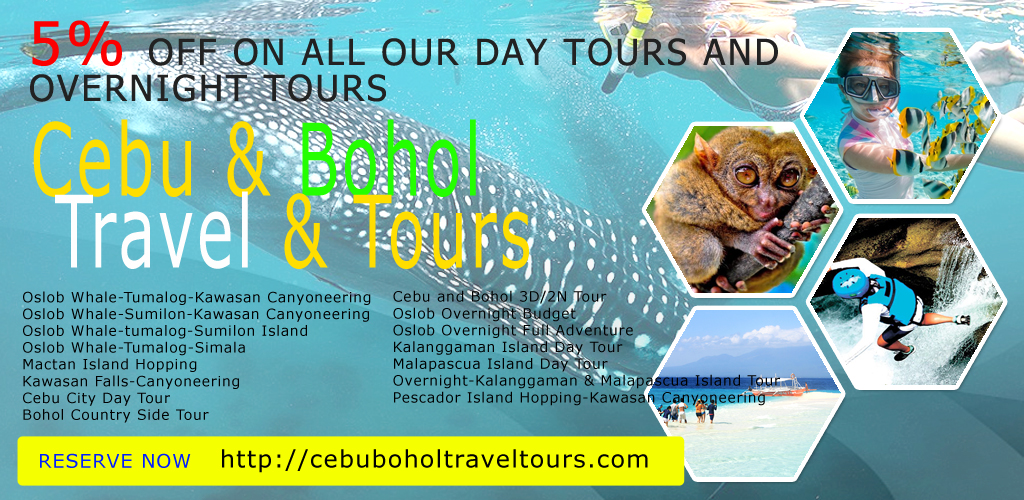 Cebu Bohol Package Tour Promo